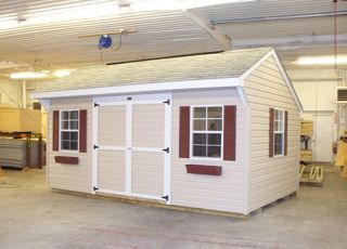 most of our shed models are also sold as kits that can be assembled by you a contractor of your choice or our fox country sheds professional installers