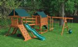 Wood Playset Climbing & Contemporary Towers COMBO