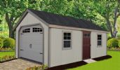 Heritage Garage - an Estate Series Shed