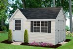 Victorian Shed with Vinyl Siding
