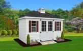 Villa - A Classic Hip-Roof Shed