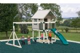 Vinyl Playset Happy Hideout Playhouse #H68-2