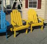 Painted Kennebunkport Chairs, Canary Yellow, IN STOCK