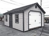 14' x 20' Heritage Garage, Estate Series Garage - SOLD!