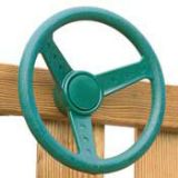 Wood Playset Steering Wheel