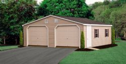 24 x 24 Double Wide Garage ***We Can Custom Build For You - Call Today!