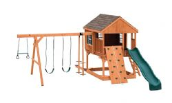 Wood Playset Country Cabin - A Best Seller!