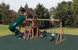 Vinyl Playset Discovery Depot #D48-8TH TREEHOUSE Wood Grain