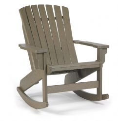 Adirondack Fanback Rocker - BREEZESTA - Shipping Included!