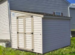 Lean-To Shed - For Snug Storage