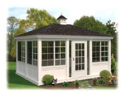 Garden House Enclosure, Rectangle, Vinyl #9